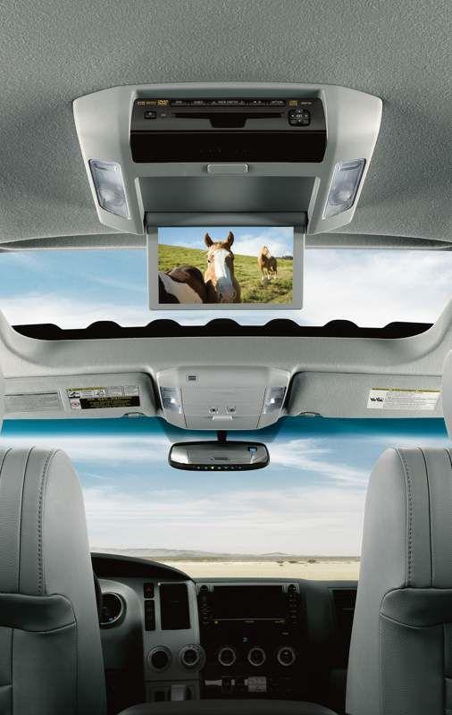 Système de divertissement arrière avec lecteur Blu-ray du Sequoia