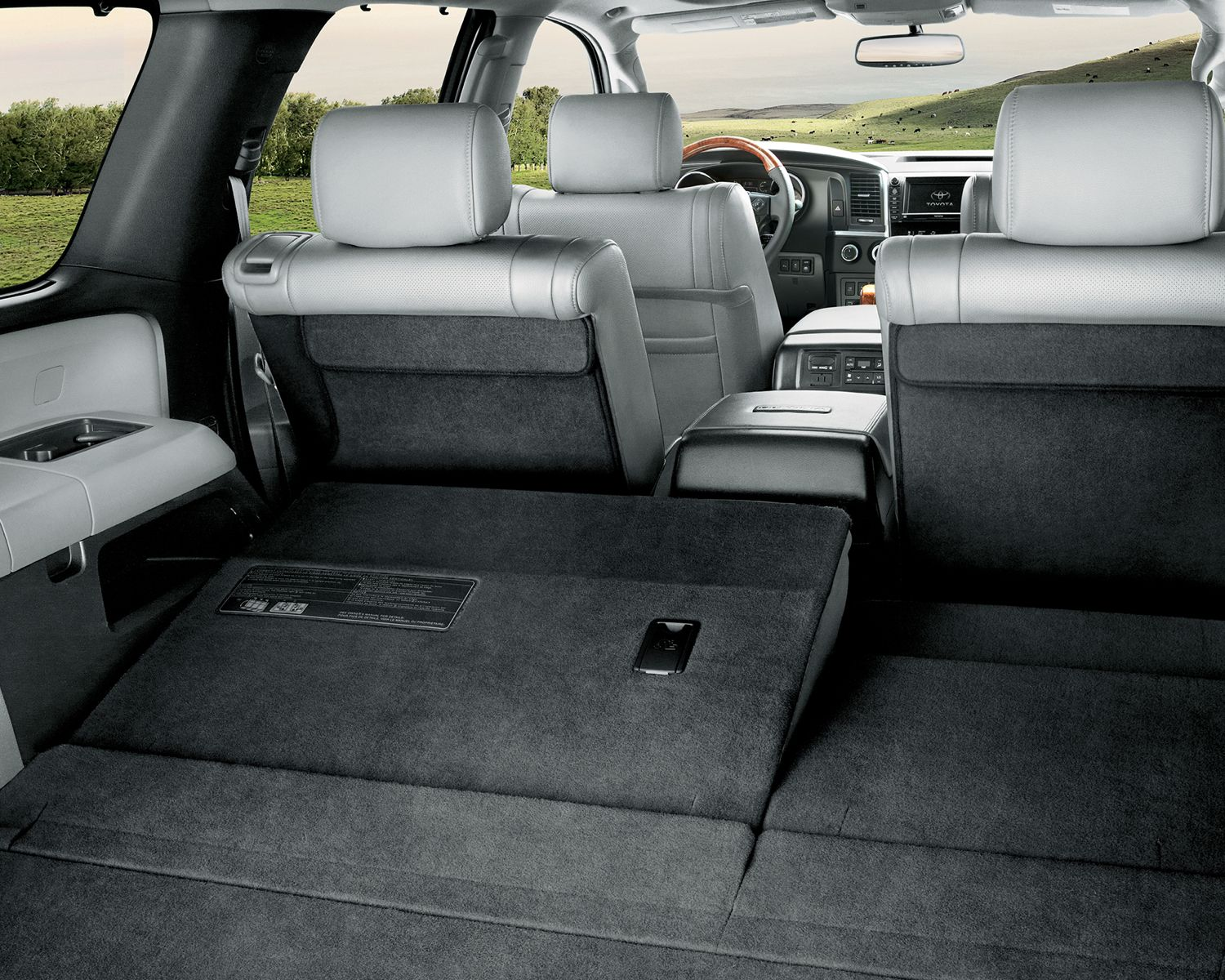 Sequoia Power Flat Folding 3<sup>rd</sup> Row Bench Seat