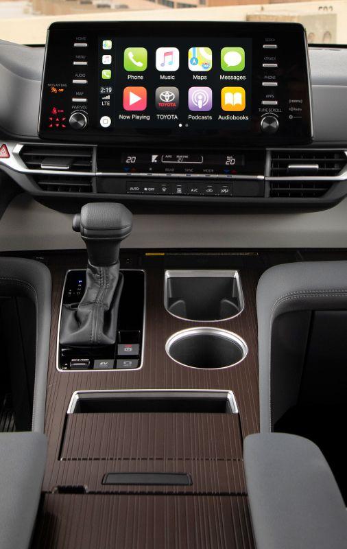 Sienna LE Interior Dashboard