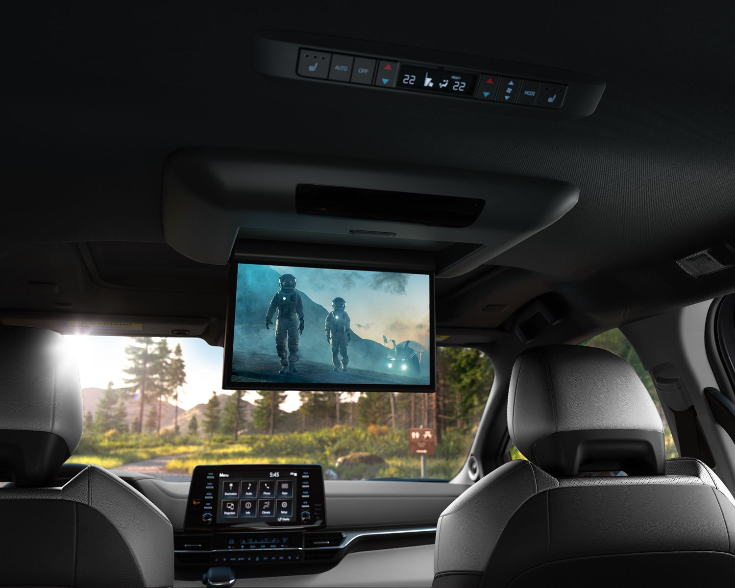 Sienna Limited Rear Seat Entertainment