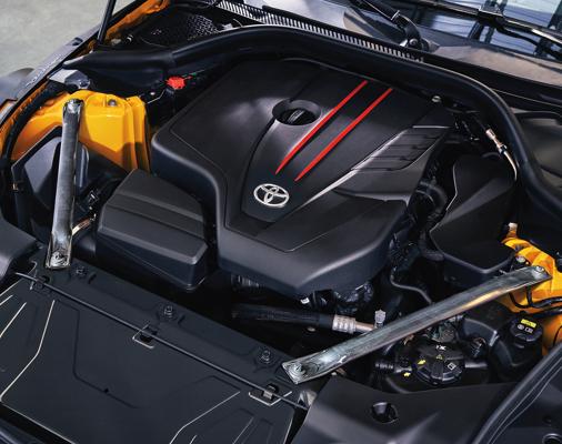 2021 GR Supra 3.0 motor