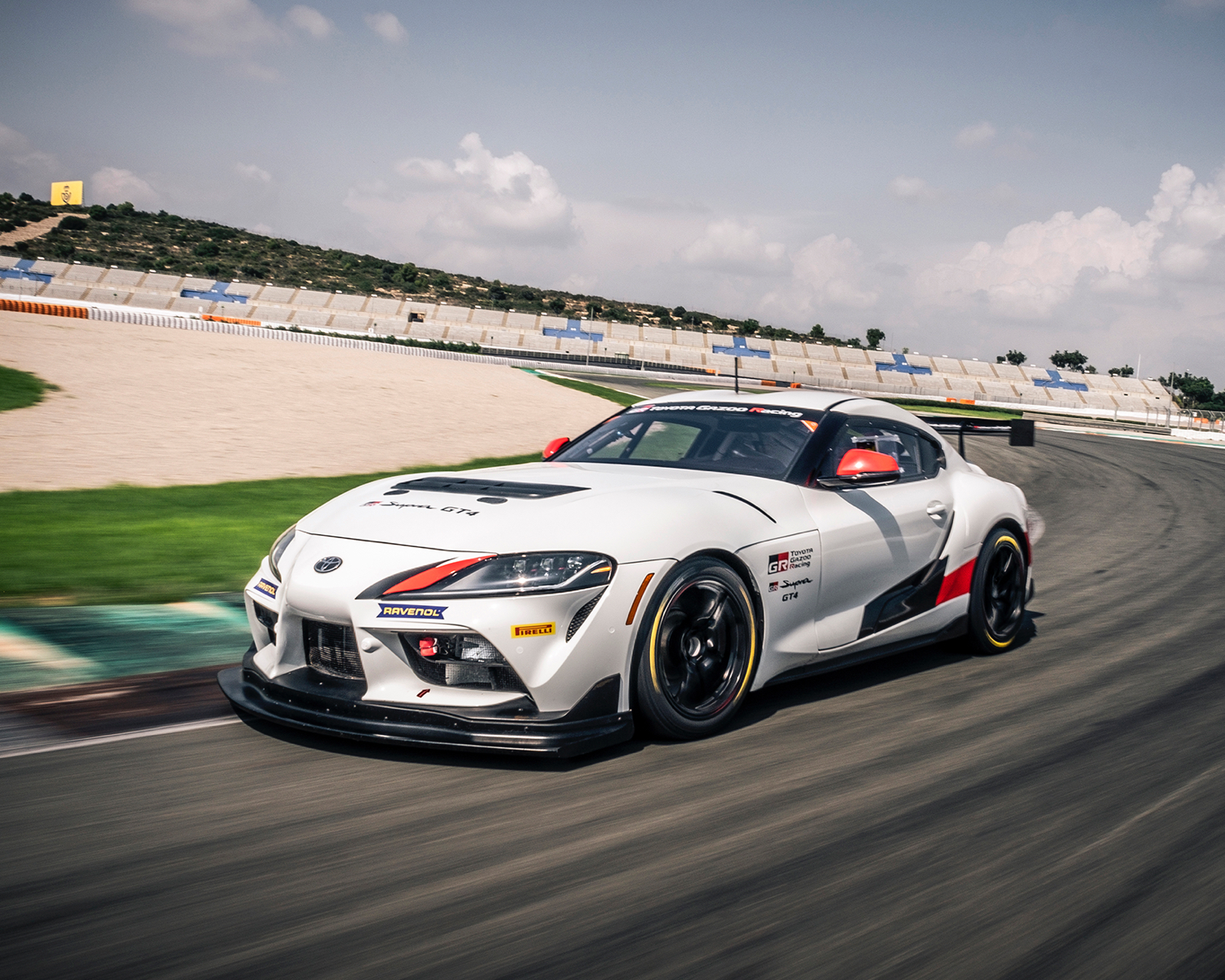 2021 GR Supra 3.0 shown in Absolute zero
