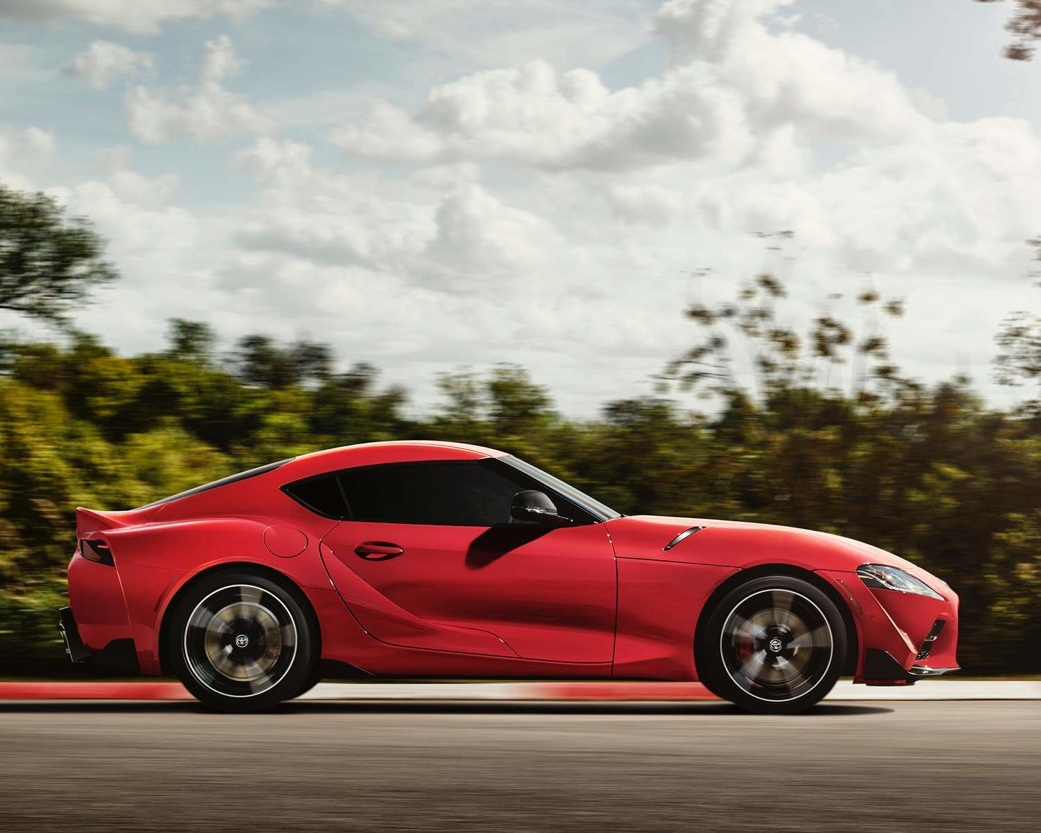 2021 GR Supra 3.0 shown in Renaissance Red 2.0