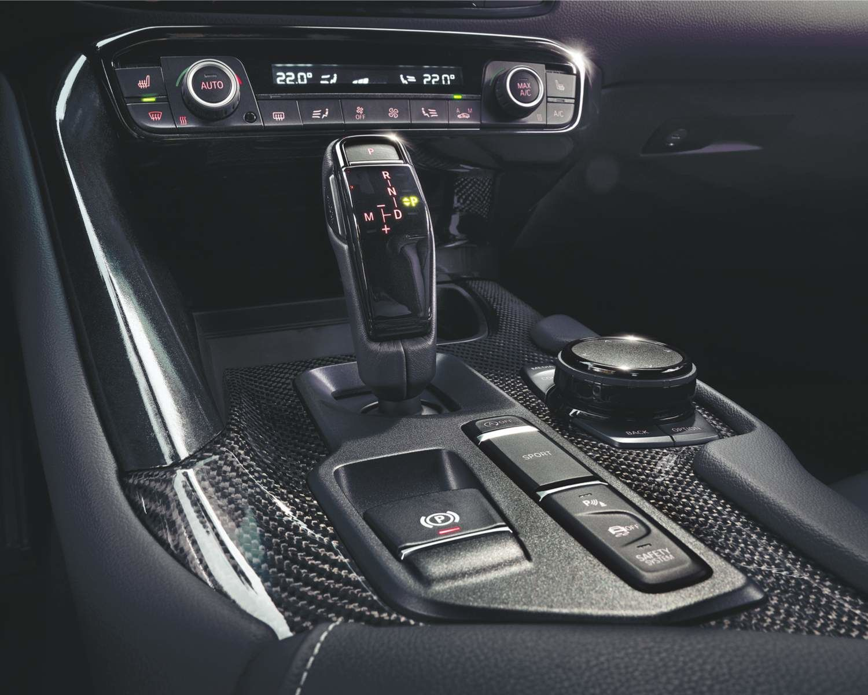 2021 GR Supra 3.0 interior