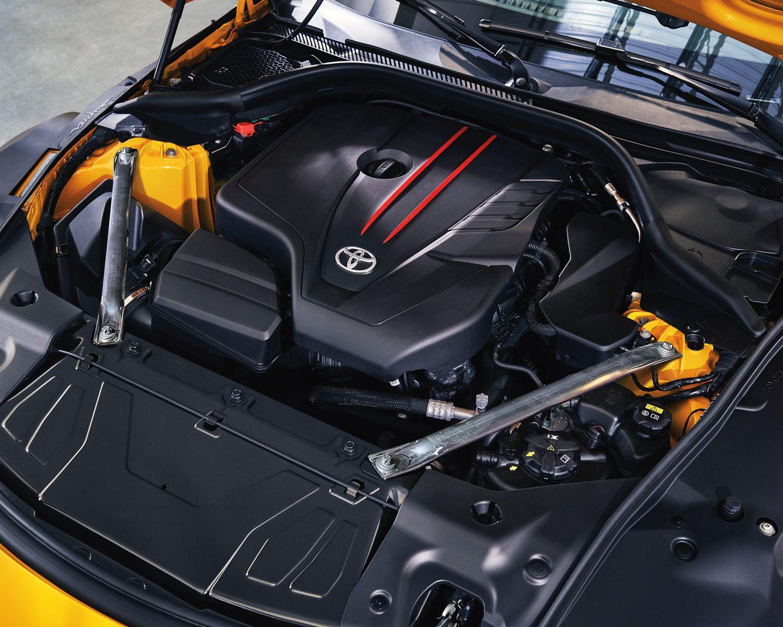 2022 GR Supra 3.0 motor