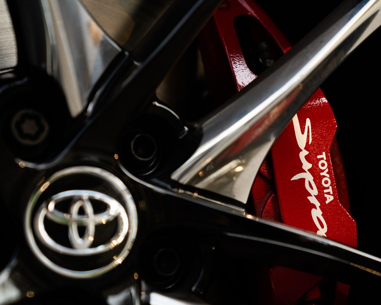2022 GR Supra 3.0 brakes