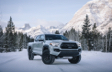 Tacoma Double Cab TRD Pro shown in Lunar Rock