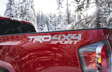 Tacoma TRD Sport 4x4 shown in Barcelona Red Metallic