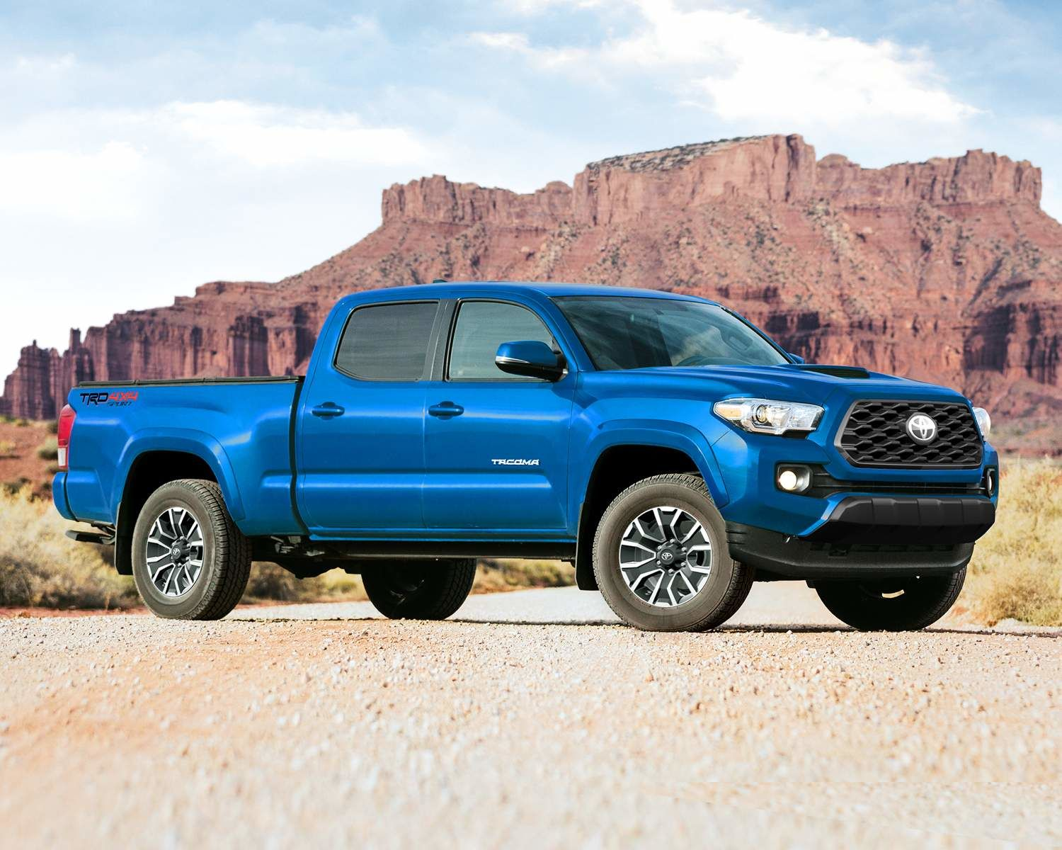 Tacoma Double Cab TRD Sport in Voodoo Blue