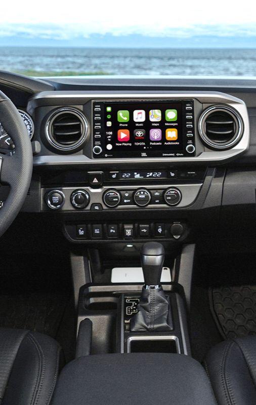 Tacoma Interior with Apple CarPlay