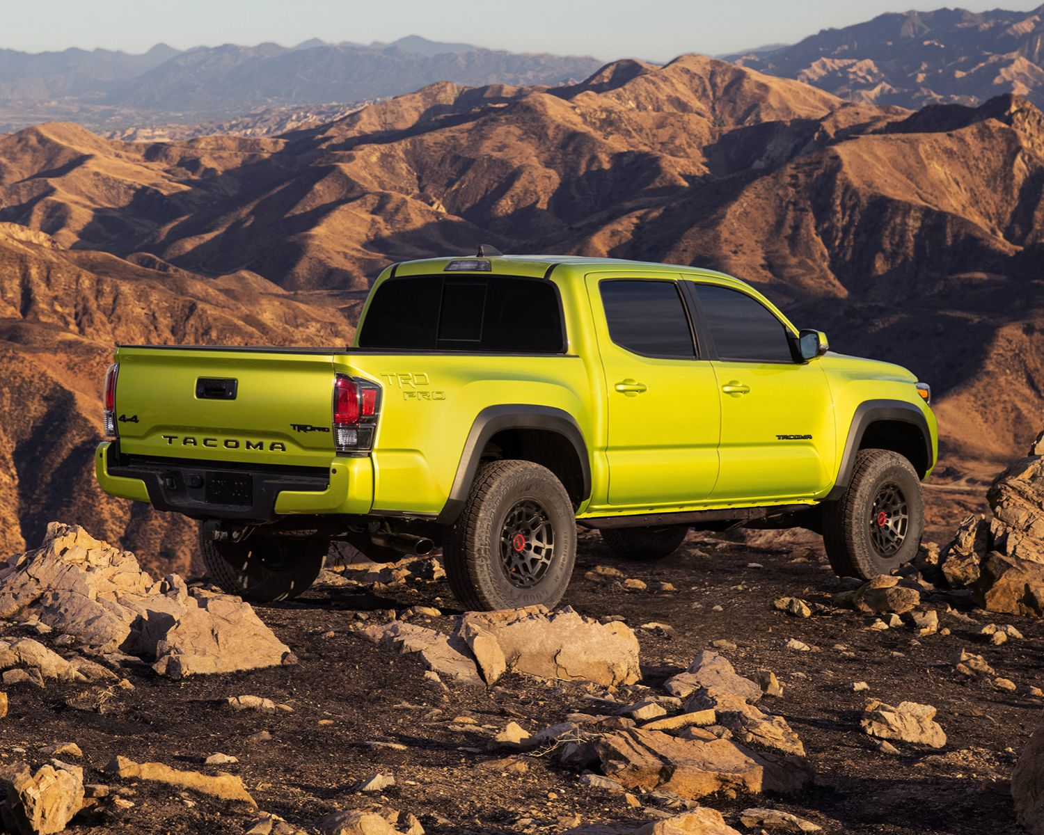 Tacoma TRD Pro in Electric Lime Metallic