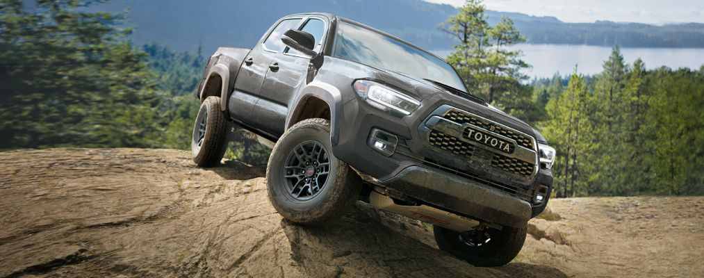 Tacoma TRD Pro in Magnetic Grey Metallic
