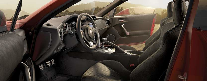 Toyota 86 Interior Front Seats