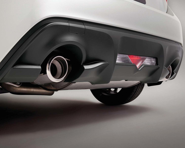 Système d'échappement double de la Toyota 86