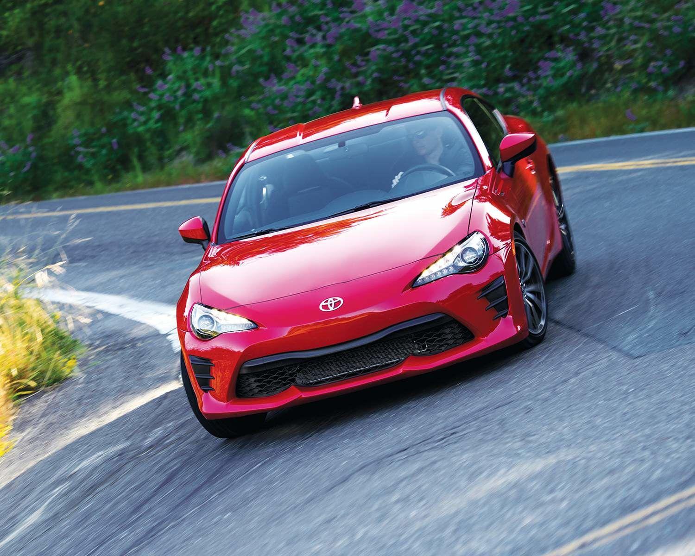 Toyota 86 shown in Ablaze