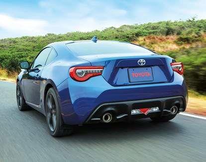 Toyota 86 shown in Oceanic