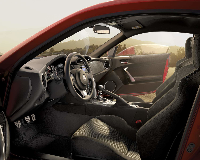 Toyota 86 Interior Front Seats