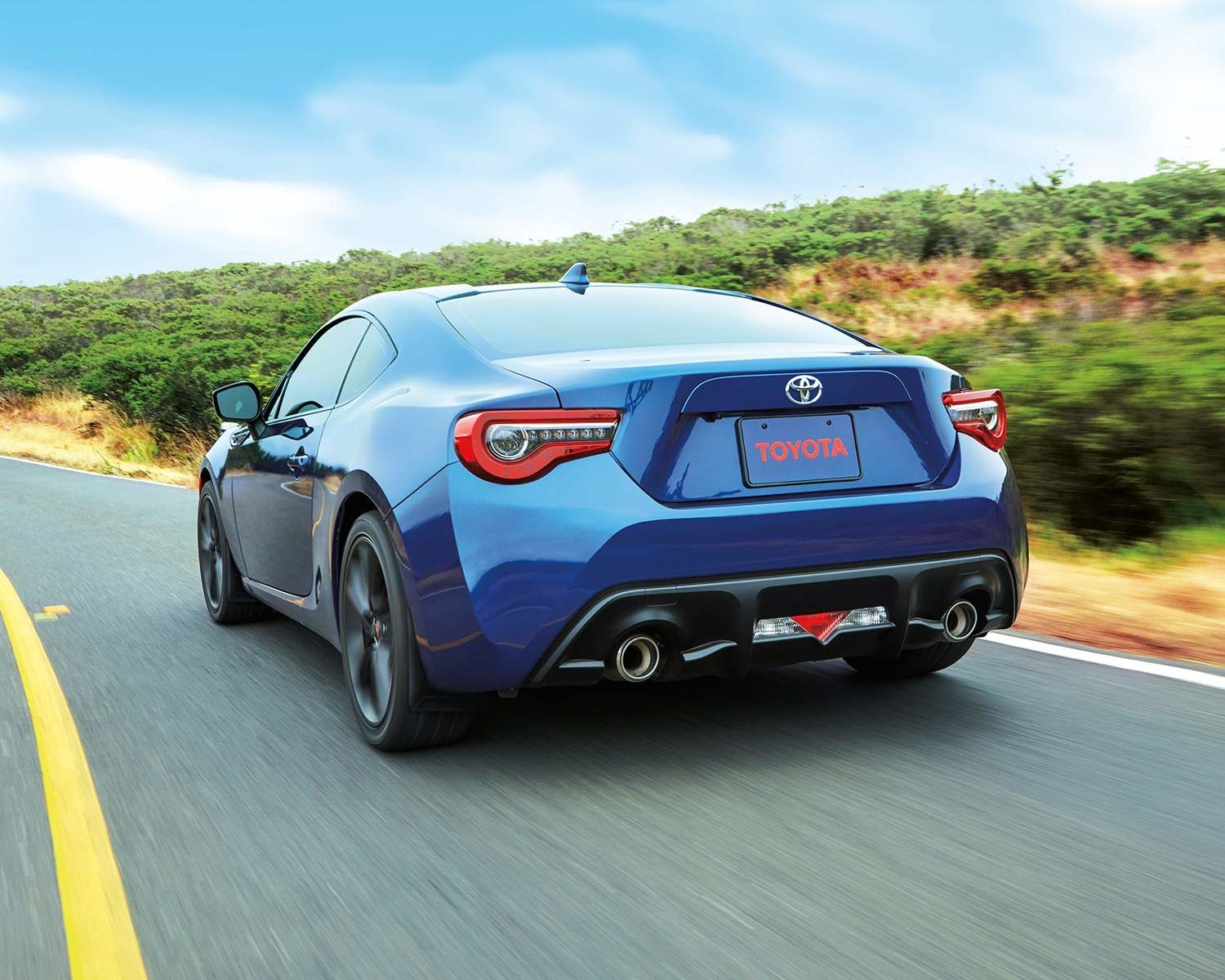 Toyota 86 shown in Oceanic