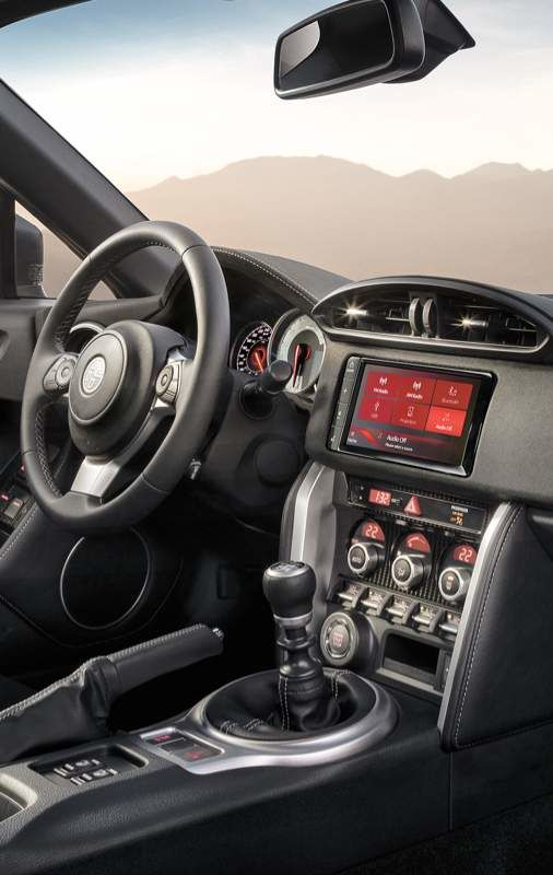 Toyota 86 Steering Wheel and Dashboard