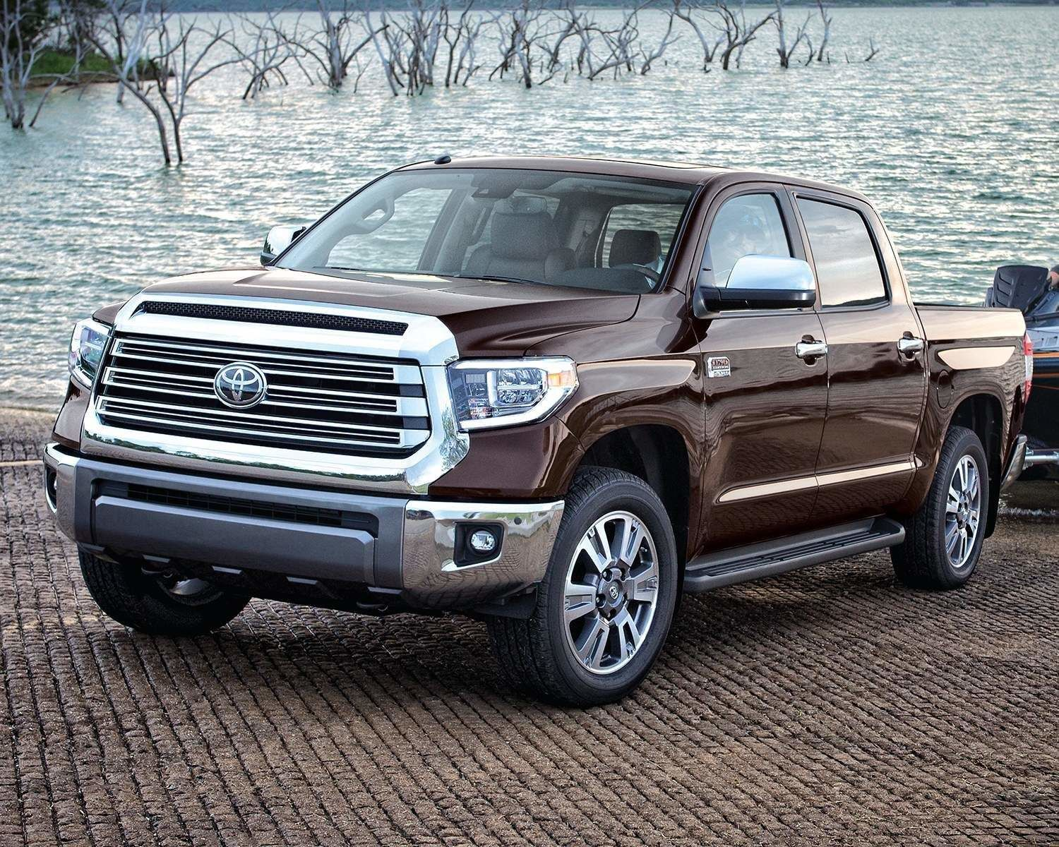 Tundra CrewMax 1794 Edition shown in Smoked Mesquite