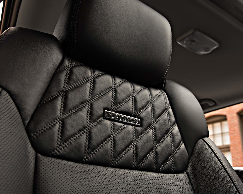 Tundra CrewMax Platinum Interior Seating