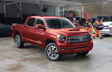 Tundra CrewMax TRD Sport Premium Package shown in Barcelona Red Metallic