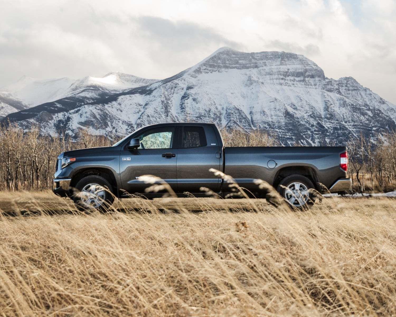 Tundra Double Cab LB SR5 Plus shown in Magnetic Grey Metallic