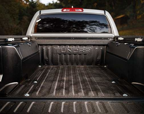 Tundra CrewMax Trail Special Edition Rear Truck Bed