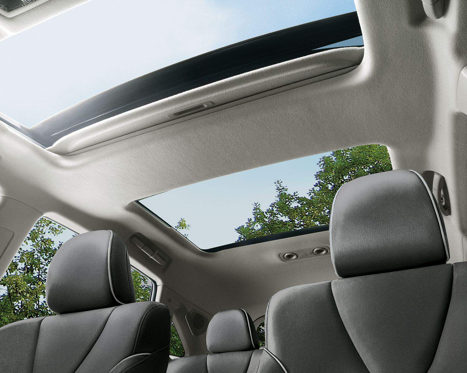 Venza AWD's optional Panoramic Glass Roof