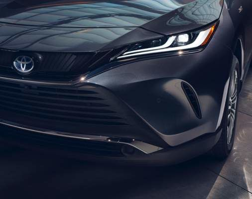 Venza Limited Grille and Projector LED Headlamps in Coastal Gray Metallic