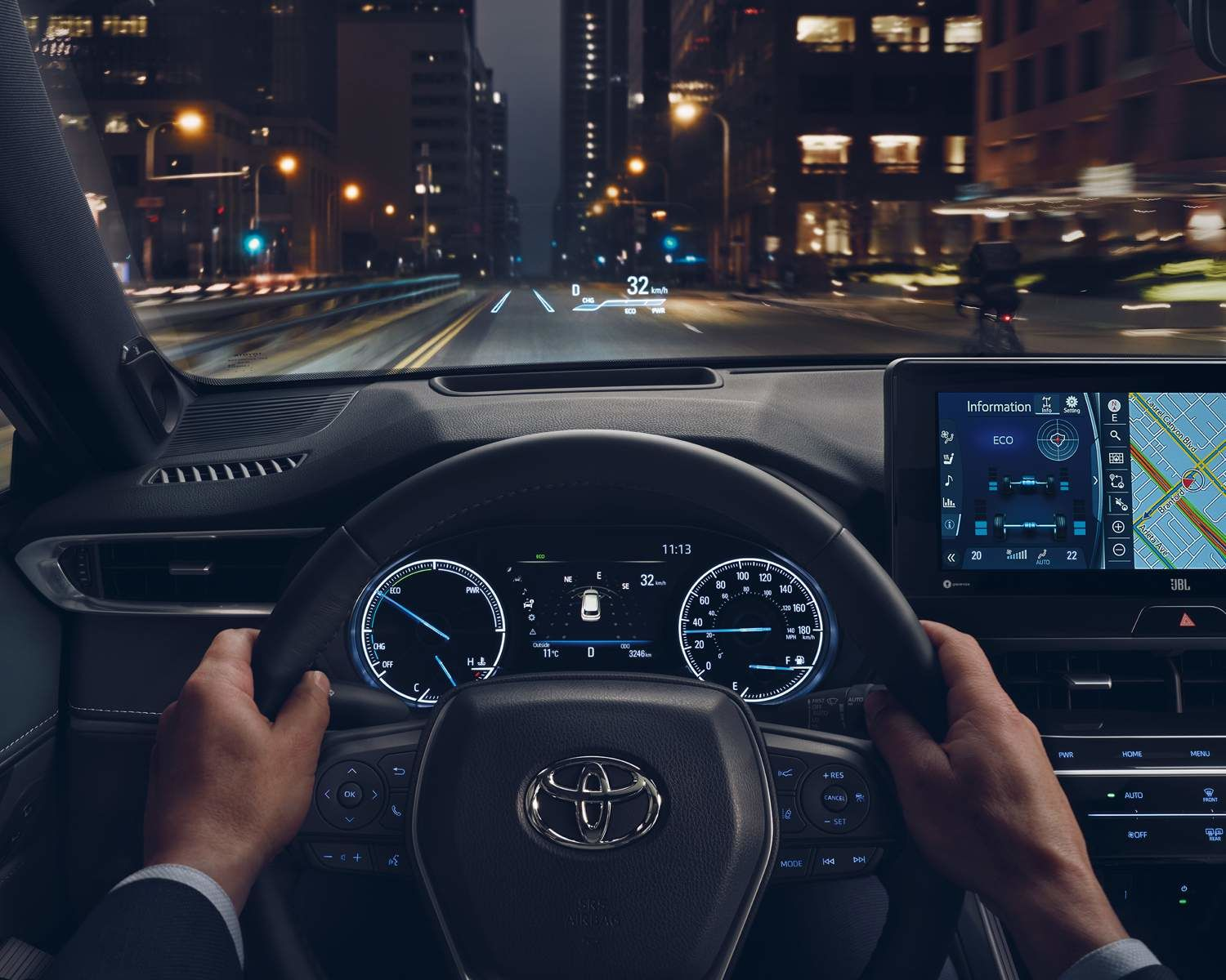 Venza Limited with Head-Up Display