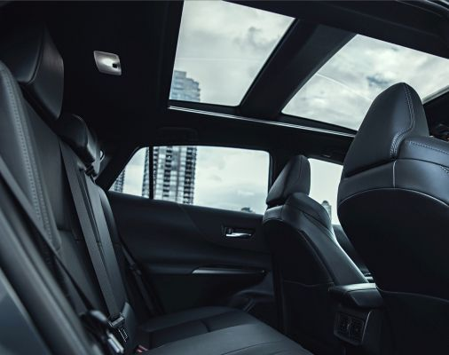 Venza Limited Black Softex Interior with Star Gaze Panoramic Glass Roof