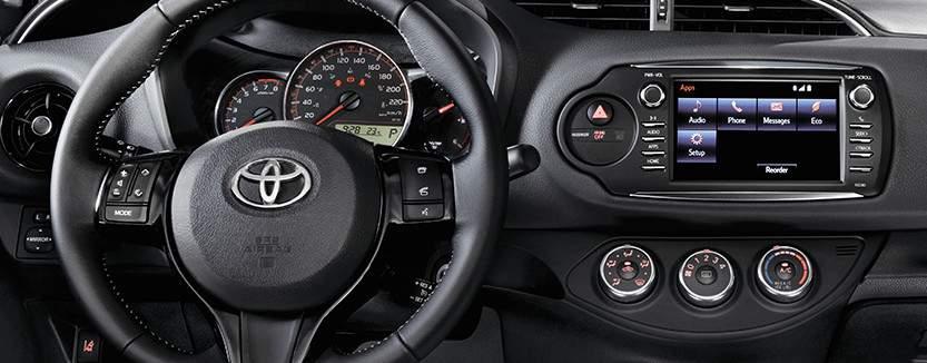 Yaris Hatchback with standard 6.1