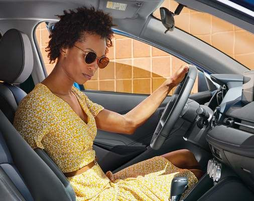 Yaris Hatchback XLE avec système audio à écran tactile de 7 po