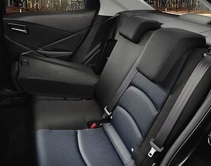60/40 Split Rear Bench Seats