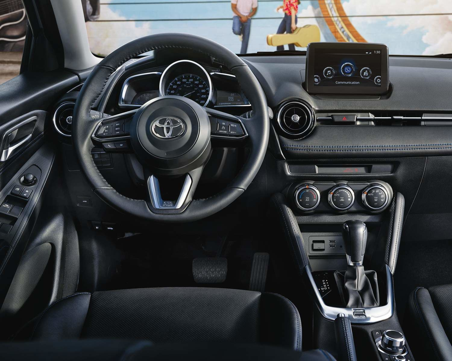 Yaris Sedan Interior Dashboard