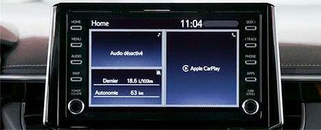 Comment naviguer entre Entune 3.0 et Apple CarPlay