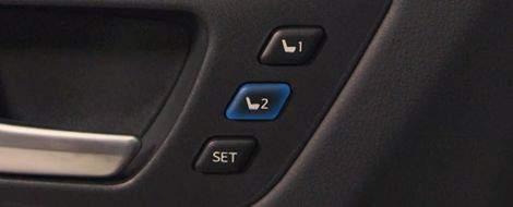 Driver's Memory Seat