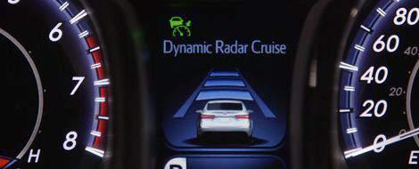 Régulateur de vitesse dynamique à radar
