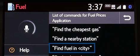 App Suite Connect: Fuel