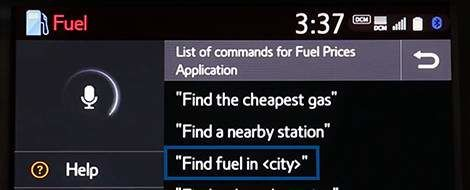 App Suite Connect: Fuel