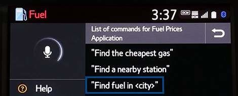 App Suite Connect: Carburant