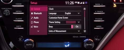 Toyota Entune: Overview