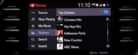 App Suite Connect: Slacker Radio