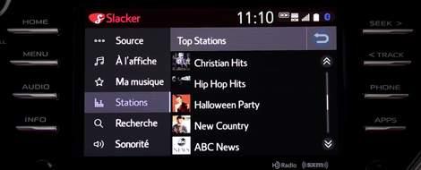 App Suite Connect : Radio Slacker