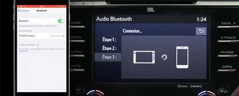 Connaissez votre Toyota - Couplage d'un téléphone avec Entune 3.0 Audio