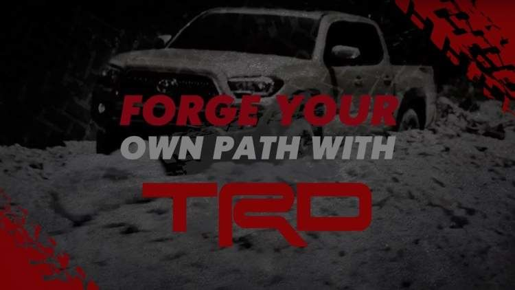 Watch the TRD Performance and Appearance Products Video