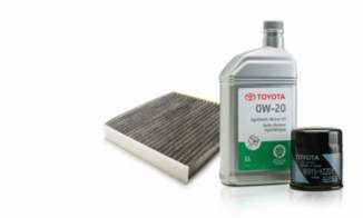 Toyota Genuine Parts - filters and oil