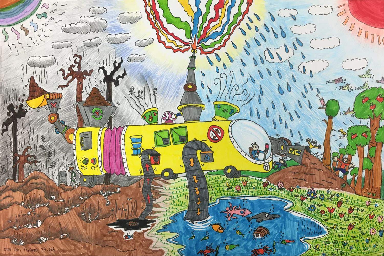 Eco-Drive by Ji An(age10)