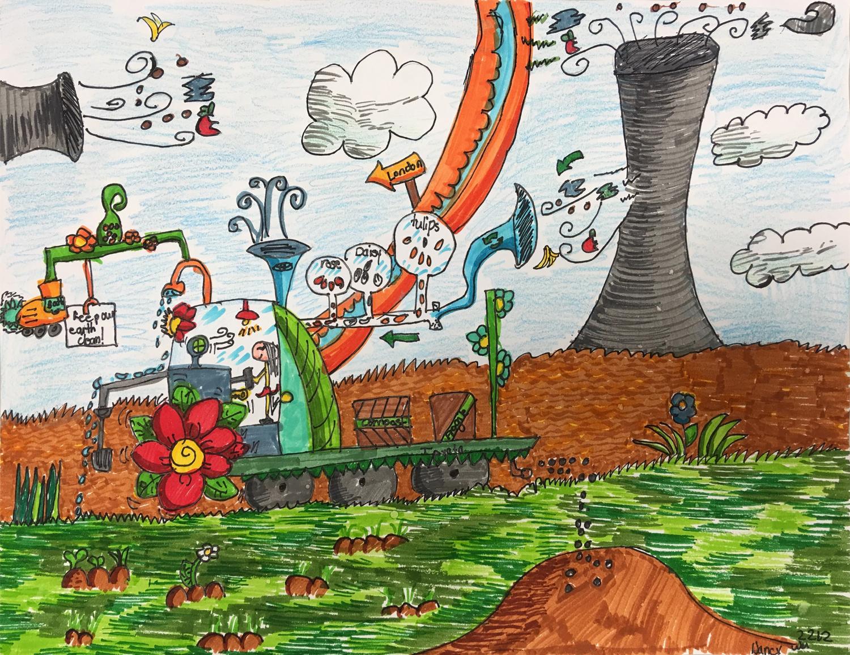 La planteuse purificatrice d'air (Nancy, 7 ans)